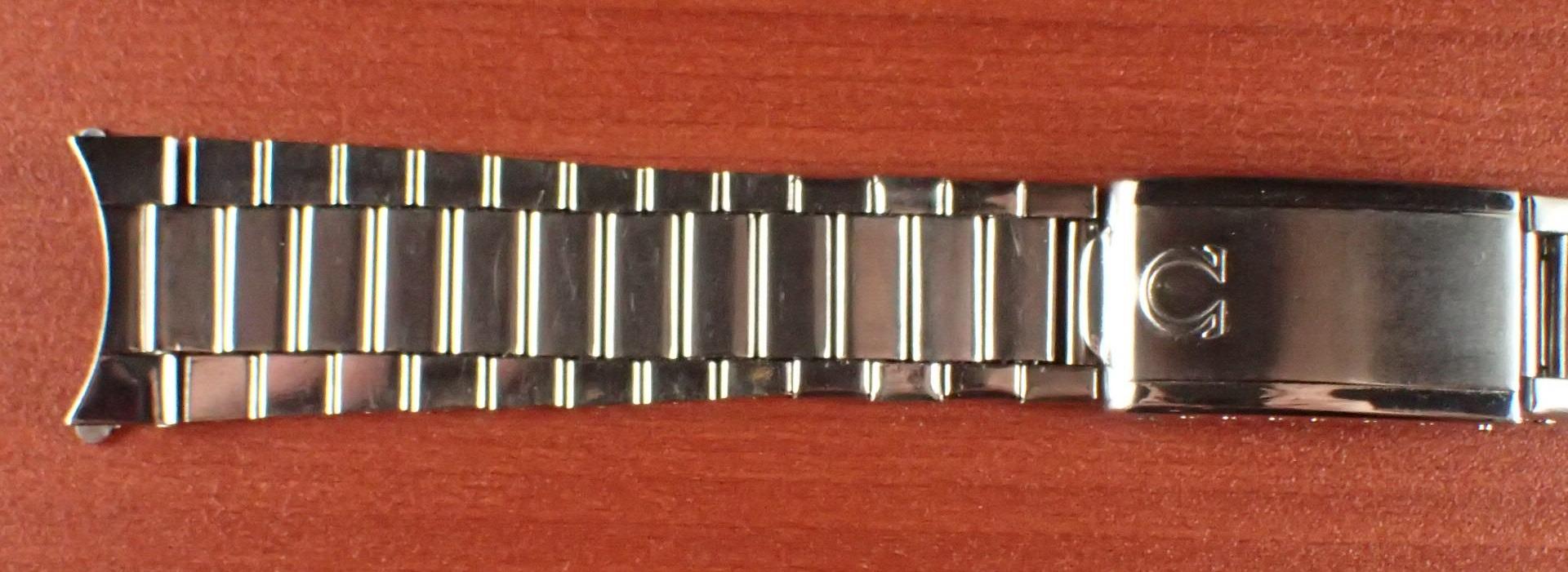 オメガ スピードマスター キャタピラブレス 20mm Ref:1039 1968年製
