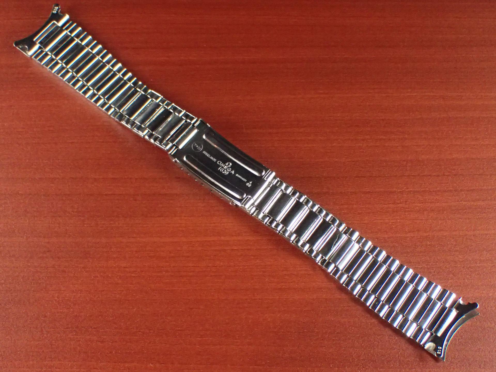 オメガ スピードマスター キャタピラブレス 20mm Ref:1039 1968年製の写真2枚目