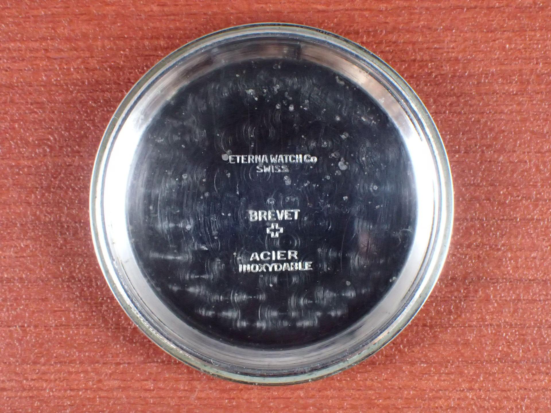 エテルナ ラージクッション Cal.852S ブラックダイアル 1940年代の写真6枚目