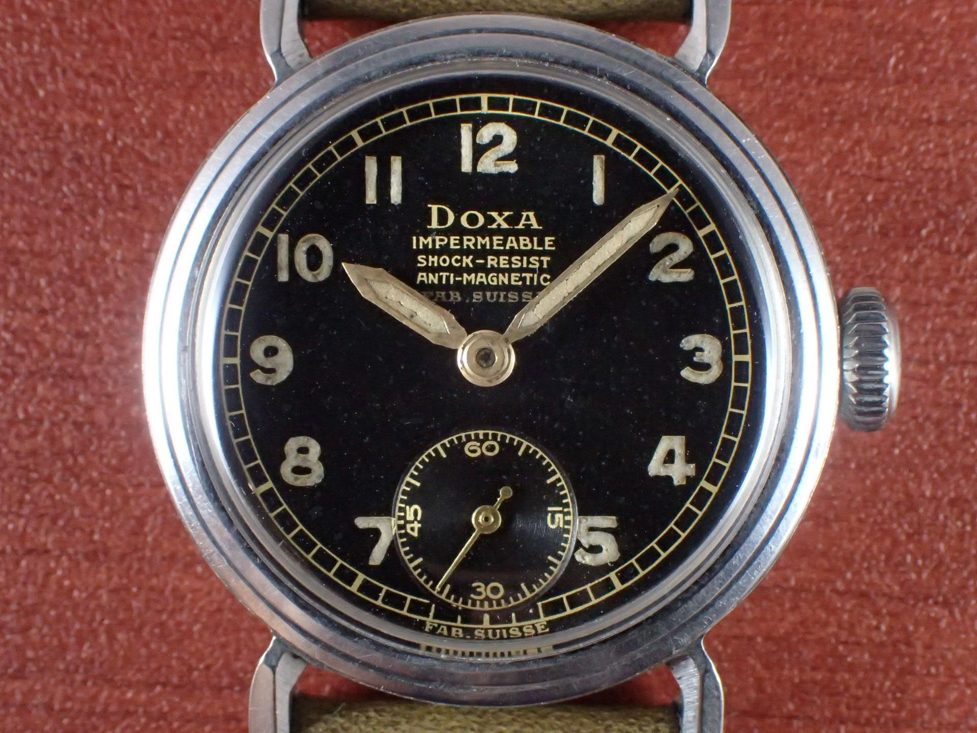 ドクサ ボーイズ ブラックミラーダイアル FBケース 1940年代の写真2枚目
