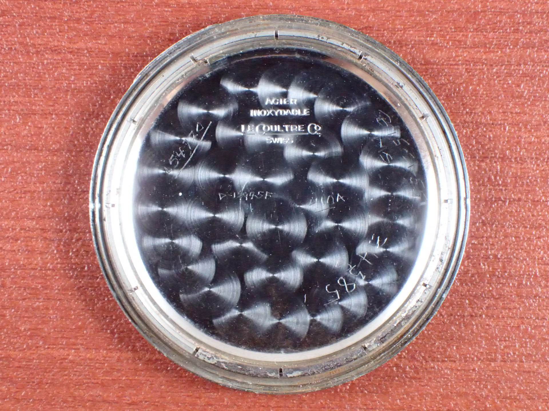 ルクルト ホワイト2トーンダイアル 24時間表記 スナップバック 1940年代の写真6枚目