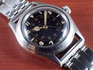 ロレックス オイスター スピードキング Ref.4220 ブラックダイアル 1940年代