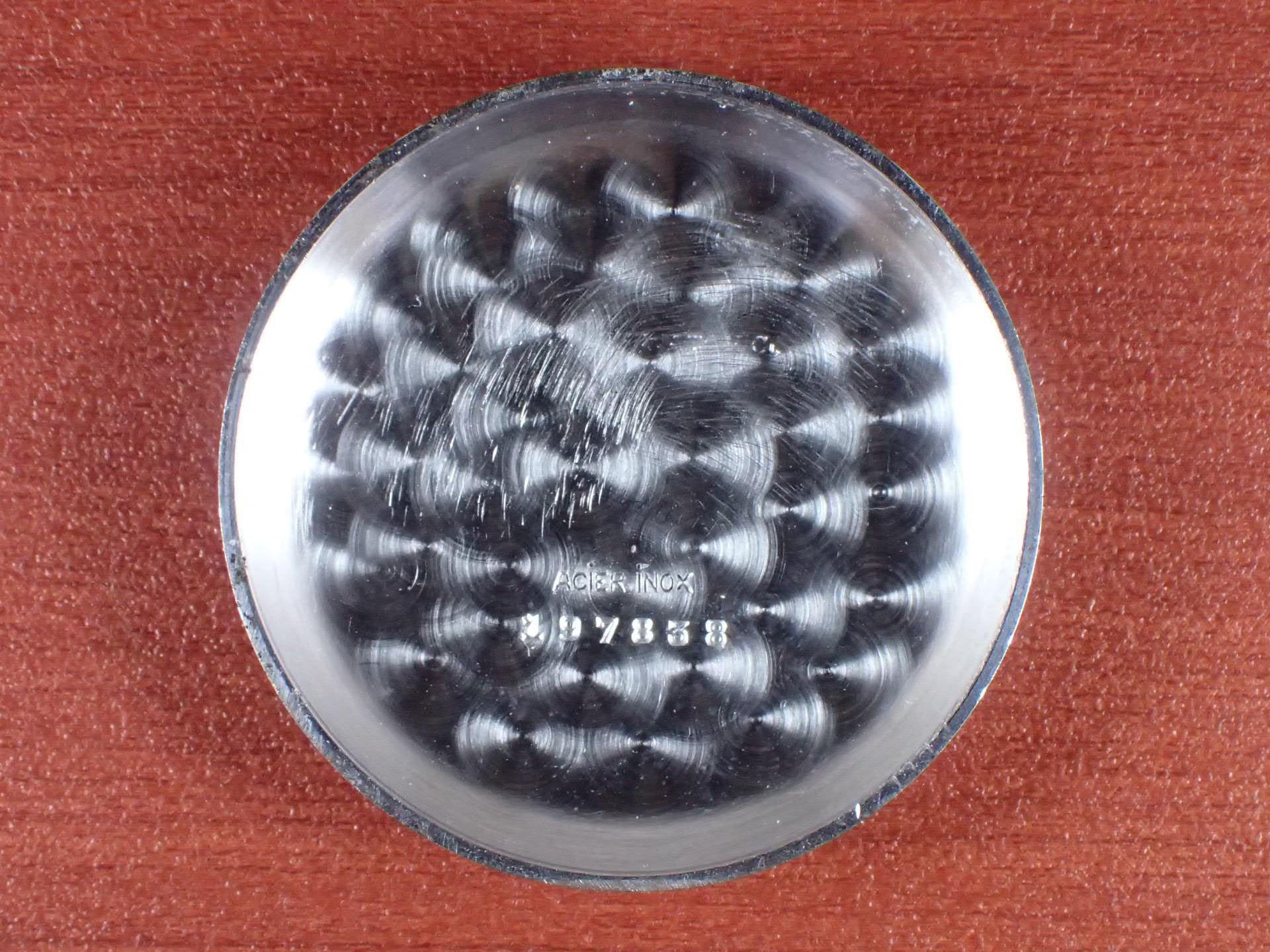 ミネルバ クロノグラフ Cal.Angelus215 ブラックミラーダイアル 1940年代の写真6枚目