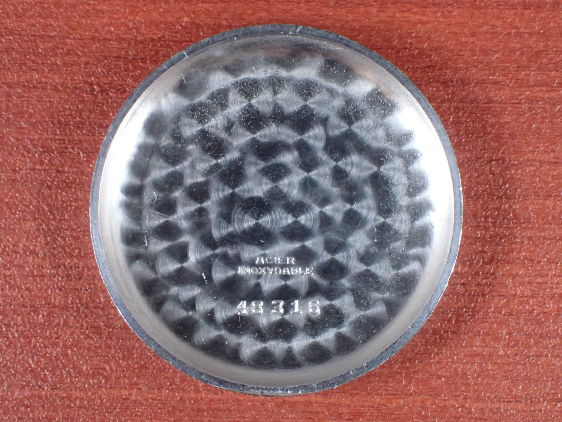 ホイヤー クロノグラフ ビッグアイ ランデロン13 ブラックDL 1940年代の写真6枚目