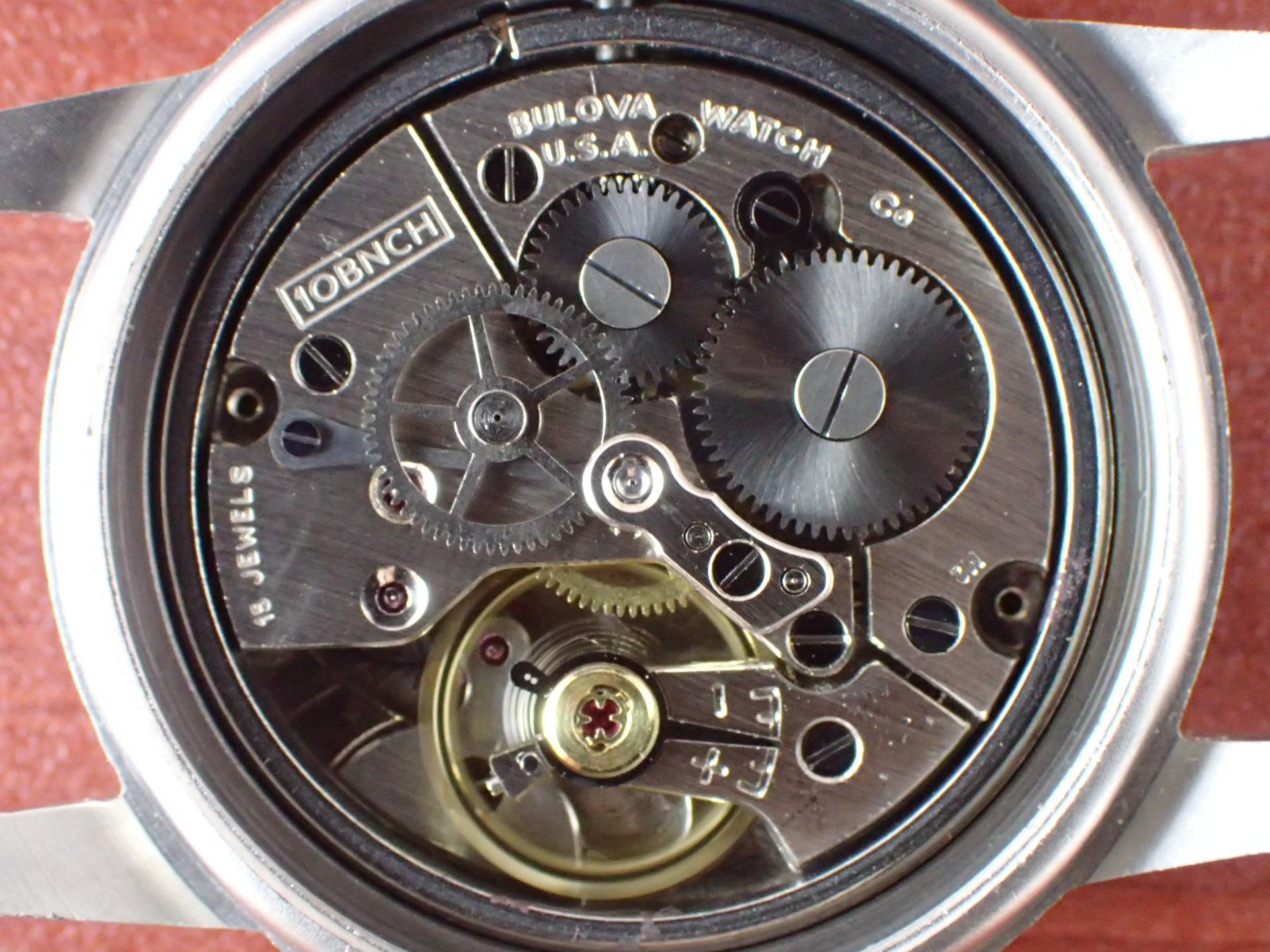 ブローバ 米軍 MIL-W-3818A レアダイアル 1960年代の写真5枚目