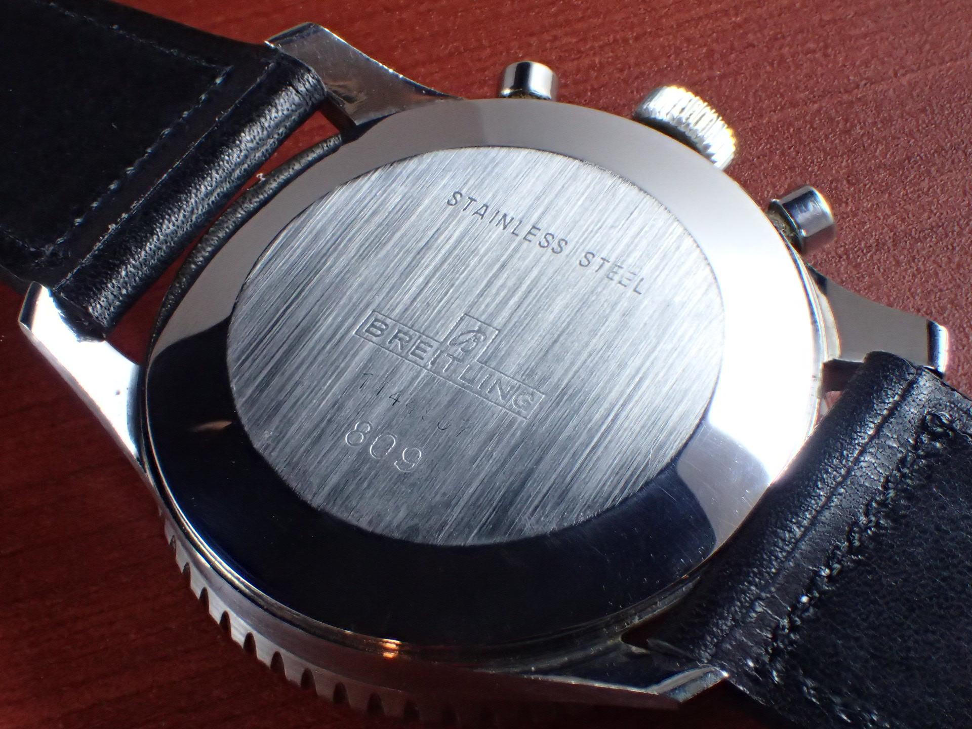 ブライトリング コスモノート Ref.809 24時間時計 1960年代の写真4枚目