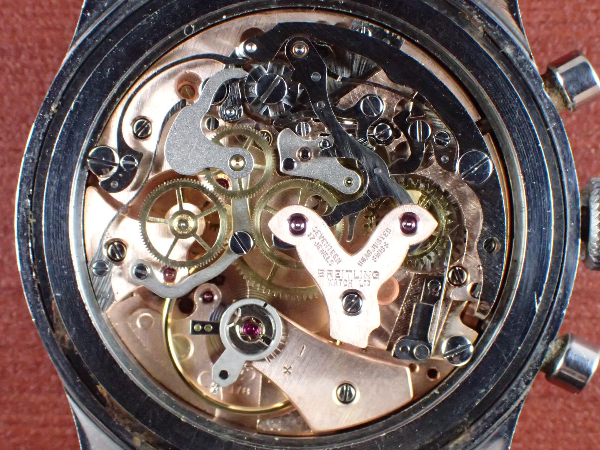 ブライトリング コスモノート Ref.809 24時間時計 1960年代の写真5枚目