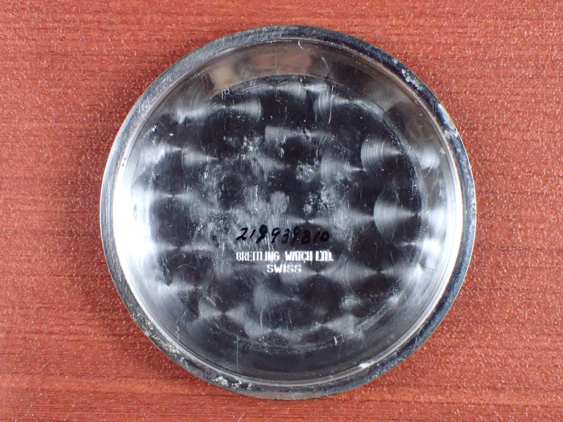 ブライトリング コスモノート Ref.809 24時間時計 1960年代の写真6枚目