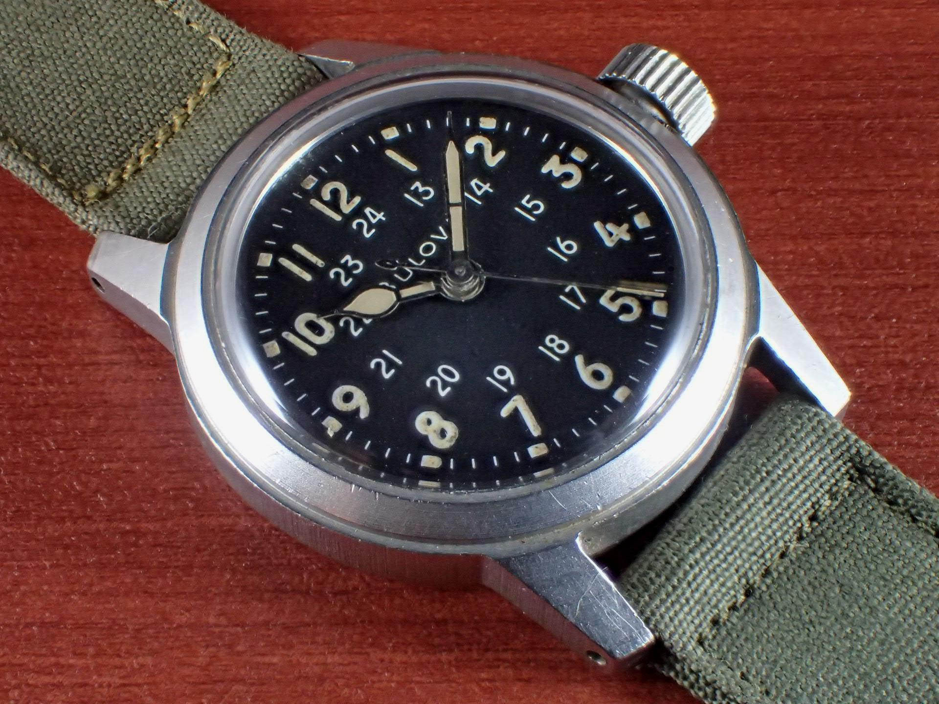 ブローバ 軍用時計 米軍 MIL-W-3818A 1960年代のメイン写真