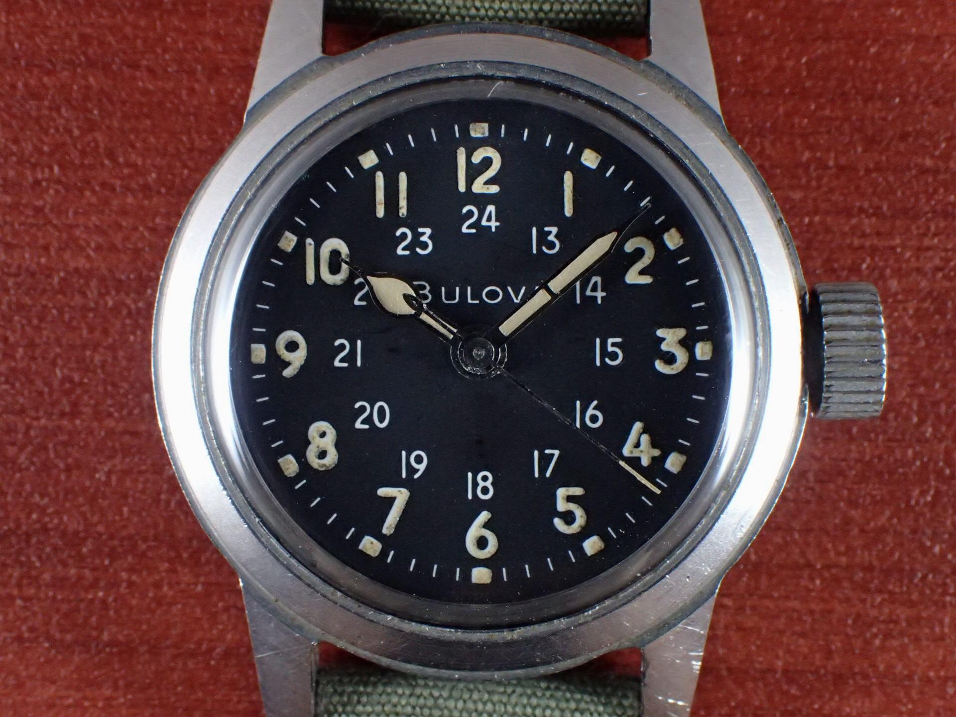 ブローバ 軍用時計 米軍 MIL-W-3818A 1960年代の写真2枚目