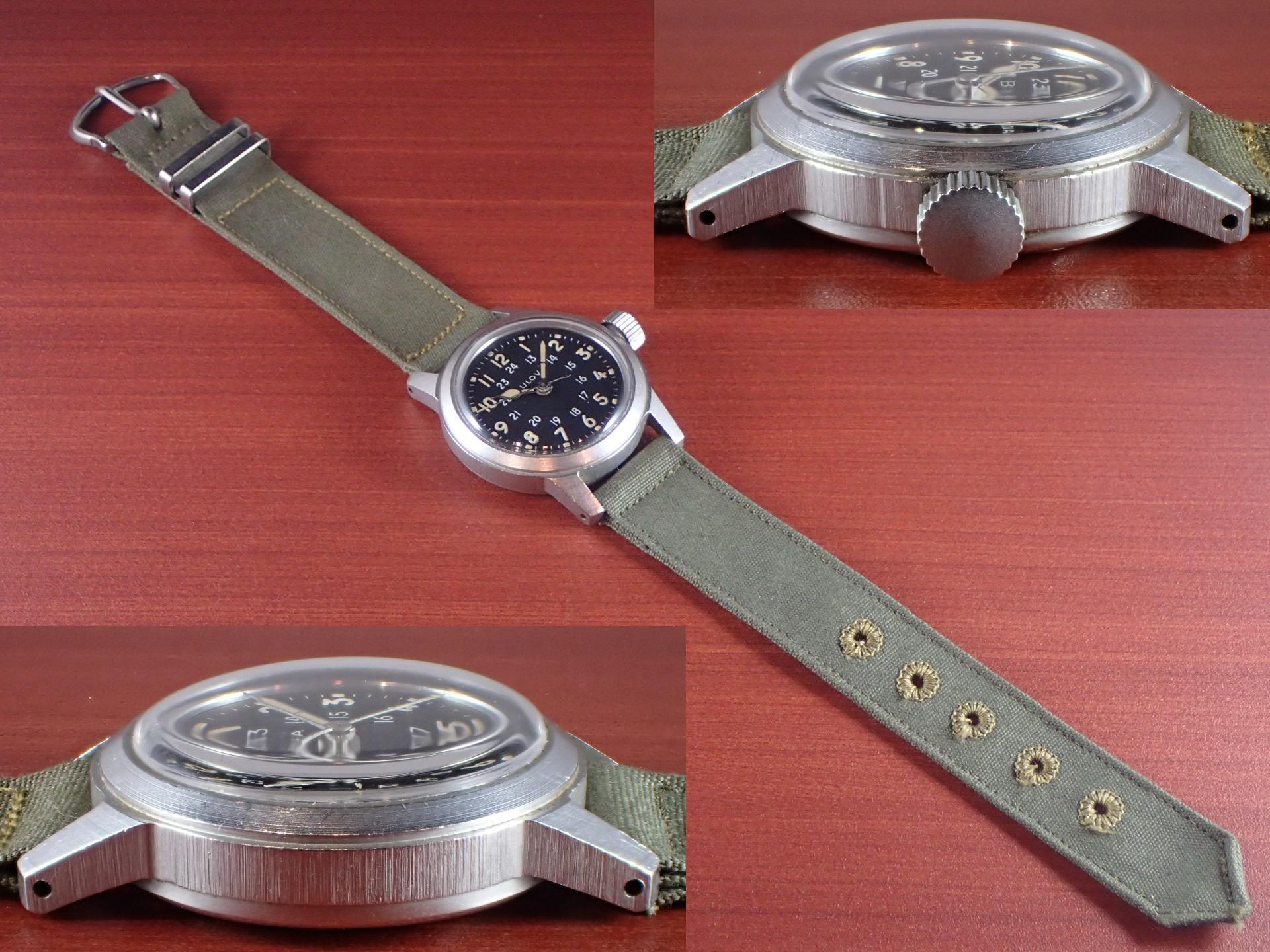ブローバ 軍用時計 米軍 MIL-W-3818A 1960年代の写真3枚目