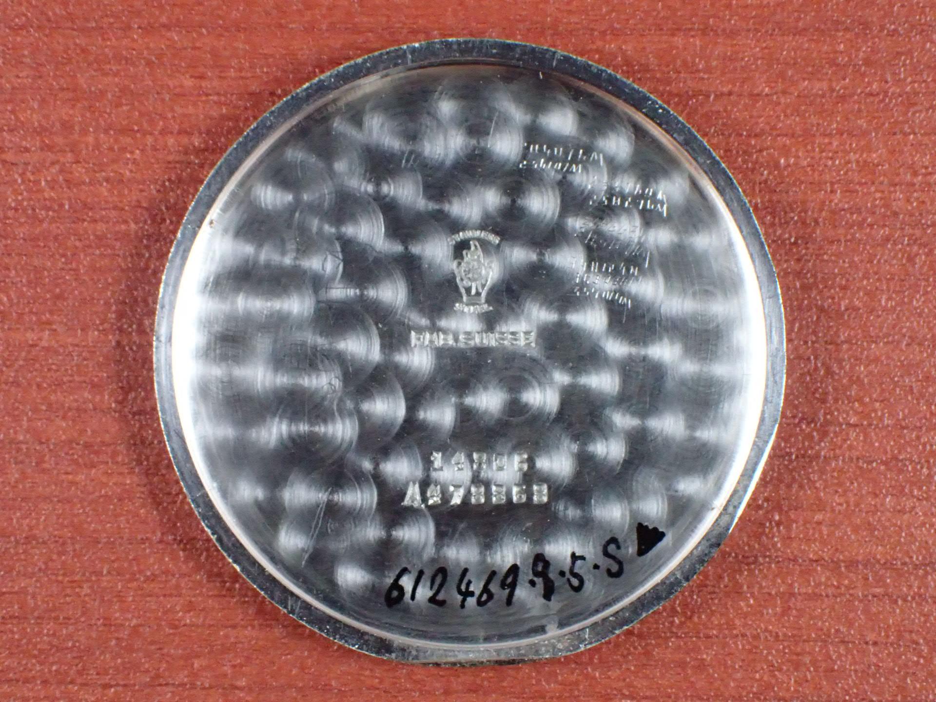 モバード カレンドグラフ ラージケース ブラックダイアル 1940年代の写真6枚目
