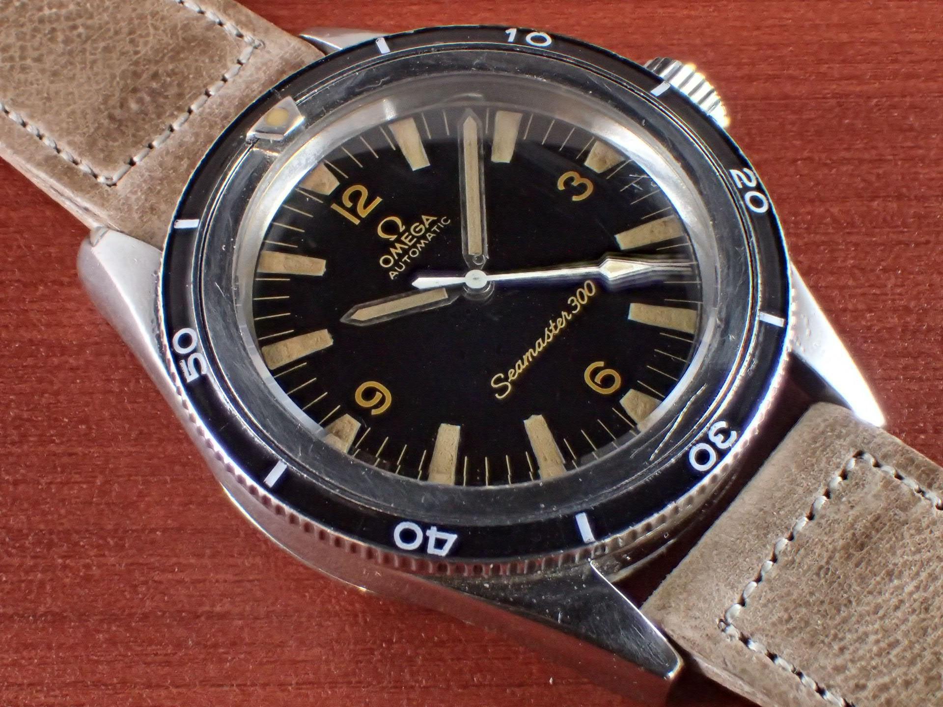 オメガ シーマスター300 セカンドモデル Ref.ST 165.014 1960年代のメイン写真