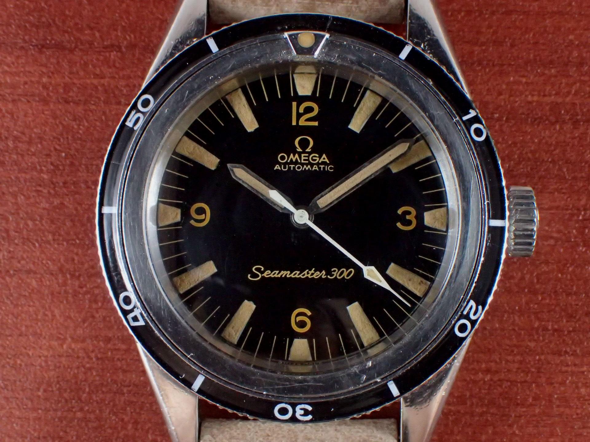 オメガ シーマスター300 セカンドモデル Ref.ST 165.014 1960年代の写真2枚目