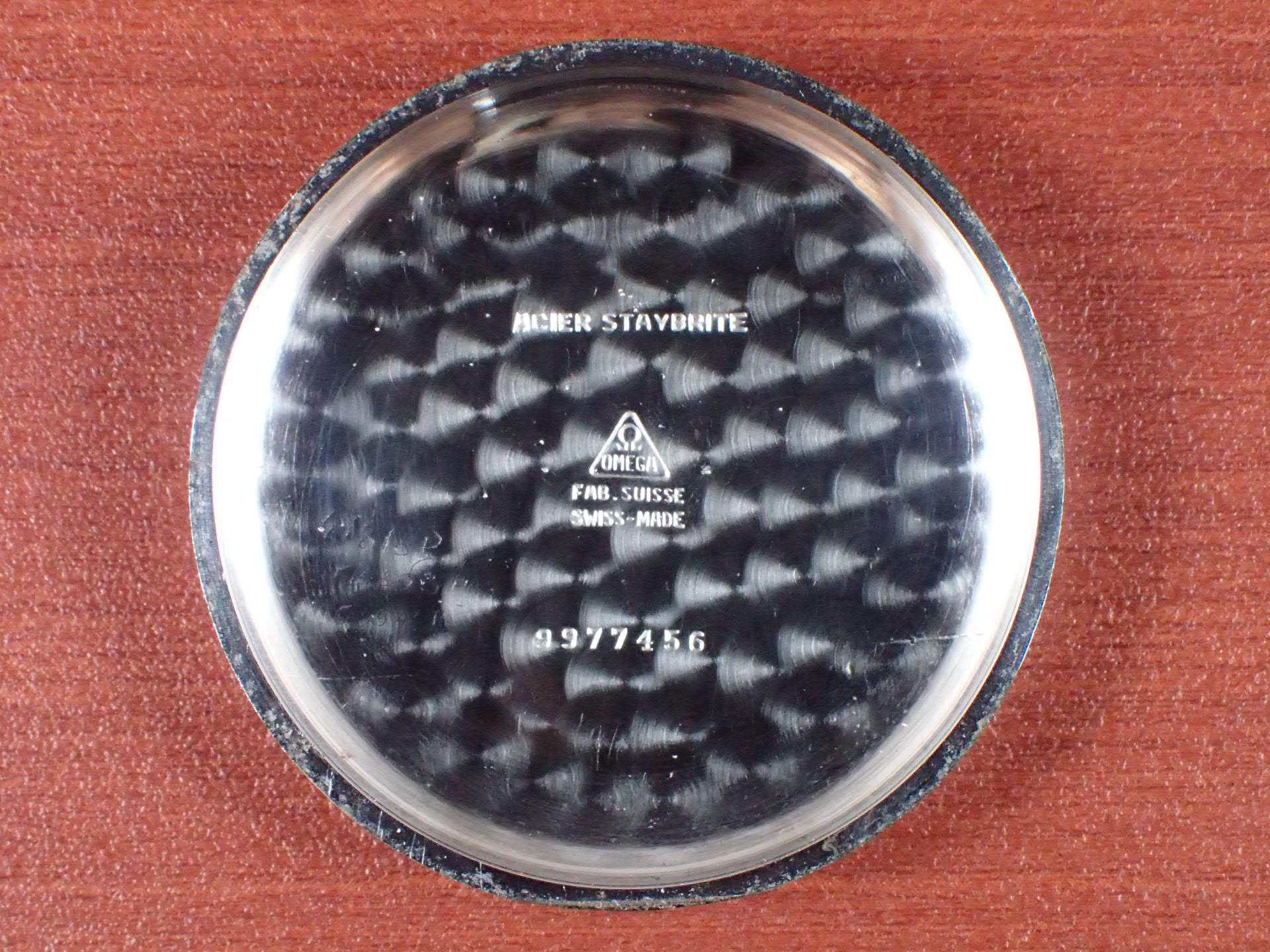 オメガ クロノグラフ Cal.33.3CHRO CK2392 ブラックダイアル 1940年代の写真6枚目