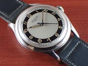 ロンジン ブルズアイ ブラック/ホワイト Cal.12.68ZS 1950年代