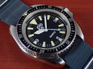 CWC イギリス海軍 0555 ダイバーズウォッチ クオーツ 1990年代